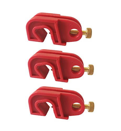 (Induschoice Universal Single Breaker Lockout,3 Pack )