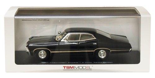 1/43 シボレー インパラ 4ドアスポーツセダン 1967(ブラック) TSM114331