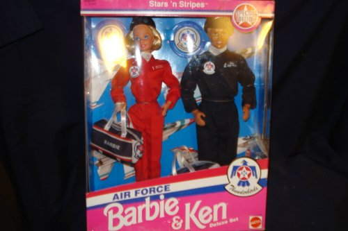 Barbie and Ken doll Air Force Stars n Stripes Deluxe (Barbie Stars N Stripes)