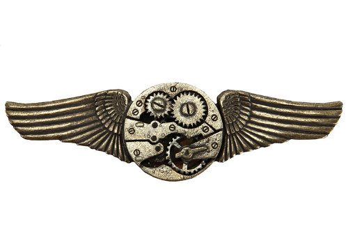 Elope - Gear Wings Antique Adult Pin