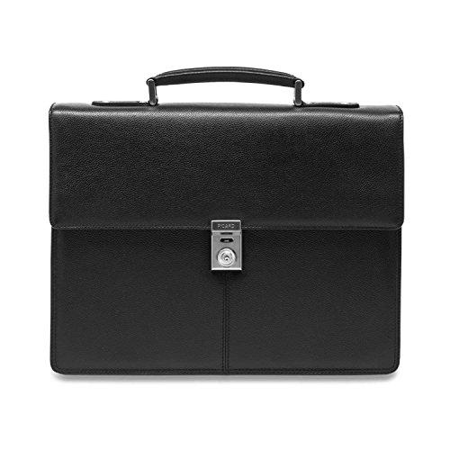 Picard Herren Taschen Aktentasche Aberdeen 8266 Black