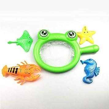 DishyKooker Juguetes de Agua para bebé, Juguetes de plástico para Insectos, Juguetes para niños