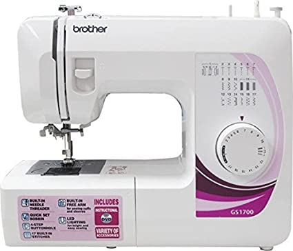 Brother GS 40 Sewing Machine White Amazonin Home Kitchen Unique Brother Sewing Machine Amazon