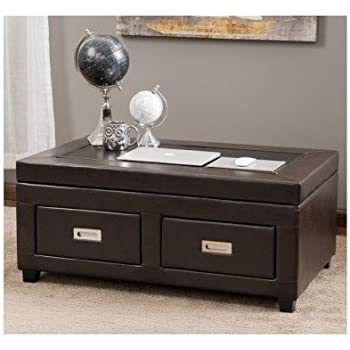416Y3Ilu20L. SL500 AC SS350  Edge Water Coffee Table With Lift Top