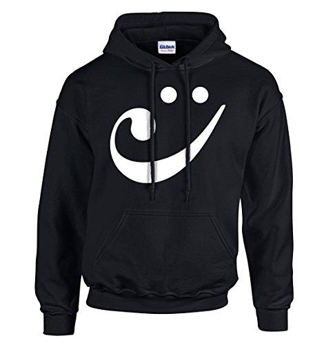 manga para Adsylum Camisas Sudadera hombre larga con de negro capucha Pw6Fqv