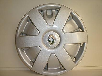 Juego de Tapacubos 4 Tapacubos Diseño Renault Megane Desde 2001 r 14 () Logo Cromado: Amazon.es: Coche y moto