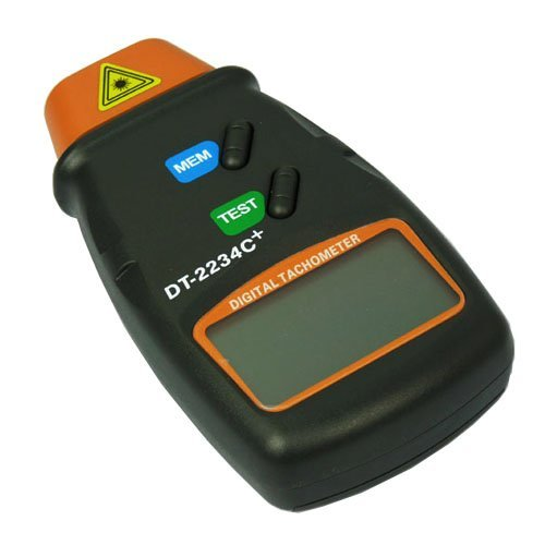 Actpe Professional Digital Laser Photo Tachometer Non Contact RPM Tach