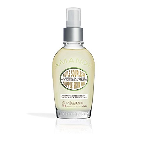 L'Occitane Smoothing & Beautifying Almond Supple Skin Body Oil, 3.3 fl. oz. by L'Occitane