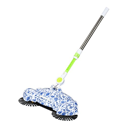 Manual Sweeping Machine, Inkach 360 Rotary Home Floor Dust Hair Sweeper Hand Push Magic Telescopic Household Brooms by Inkach (Image #5)