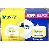Garnier Light Complete Day Cream, 40g with Free Garnier Light Complete Night Yoghurt Sleeping Mask, 18g