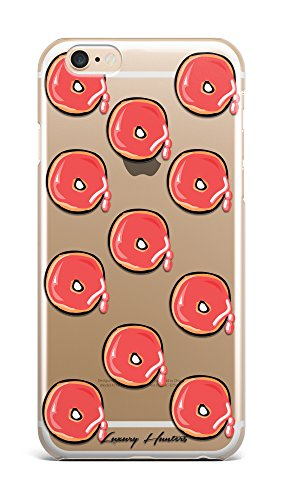 Doughnut sweet colourful girly food plastic transparent see through case / cover for Apple Iphone design made by LuxuryHunters ® (Iphone 6 & 6s)