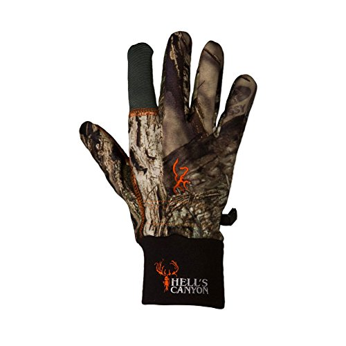 Browning Hell's Canyon Gloves, Mossy Oak Break-Up Country, Medium