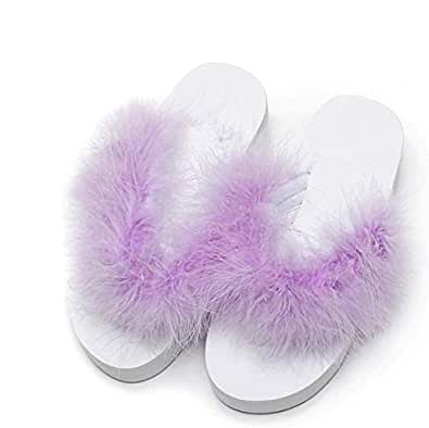 Violet Wedges Slipper For Women
