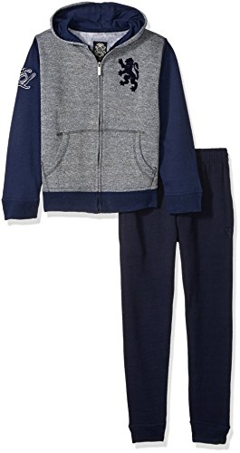 English Laundry Big Boys' 2 Piece Jog Set (More Styles Available), SK13-Navy, 8