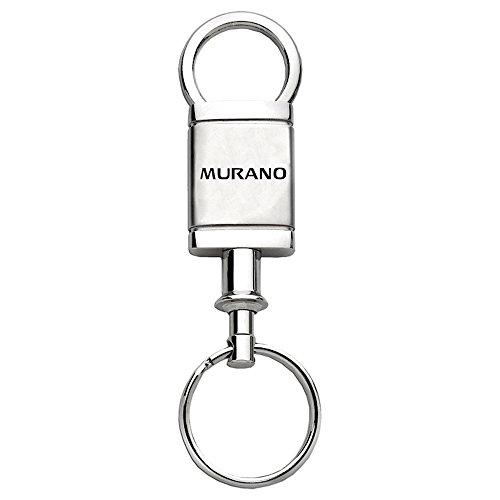 Nissan Murano on Satin-Chrome Valet Keychain - Officially (Murano Keychain)