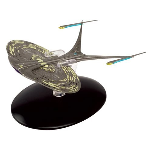 Star Trek Starships Enterprise NCC-1701J Die-Cast Vehicle with Collector Magazine #89 (Diecast Ship Metal)