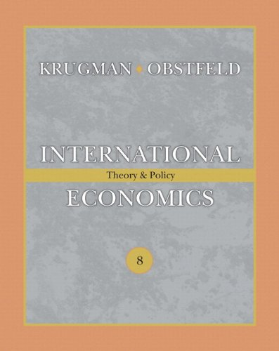 International Economics: Theory & Policy (The Addison-wesley Series in Economics)