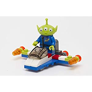 Lego – 30070 – Disney Pixar Toy Story 3 – Alien and Space Ship (34pcs) Bagged