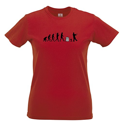 Zombie Evolution Undead Gravestone Dead Womens T-Shirt (Gravestone Sayings)