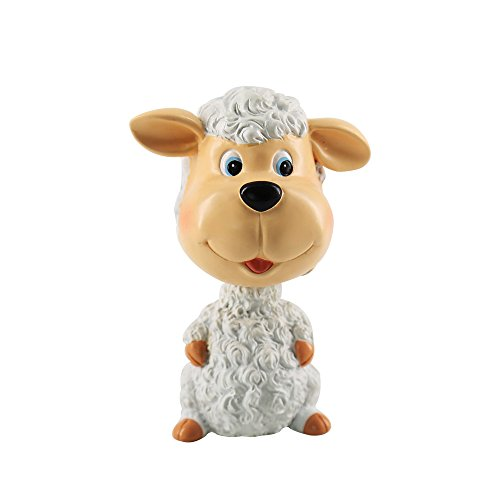 Missley Ceramic animal decoration living room decoration painted arts and crafts office decoration (sheep) by Missley