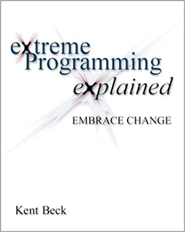 Beck extreme pdf programming explained kent
