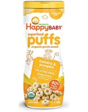 Happy Baby Organic Puffs