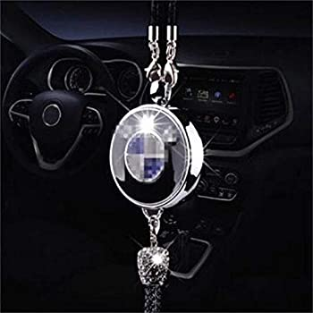 Fitracker Car logo Perfume Air Freshener Rearview Mirror Perfume Pendant With Gift Box