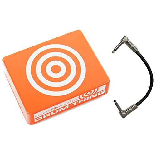 Electro Faustus EF105 Drum Thing Percussion Sound Sample Device Pedal w/ Patch Cable by Electro Faustus