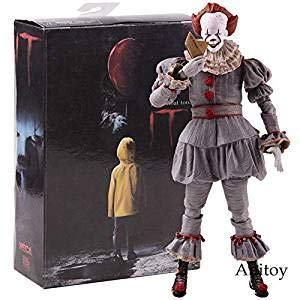 (Sealed Original NECA IT Pennywise Ultimate Stephen King 7inch 18cm Action Figure Collectible Toy Doll with)