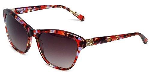 VERA WANG Sunglasses SORA Red Tortoise ()