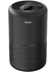 Levoit Luftrenare H13 HEPA luftfilter för allergiker, luftrensare mot 99,97 % av pollen dammrök, CADR 187 m³/h, upp till 40㎡,4 fläktnivåer timer tyst viloläge för rökrum, svart