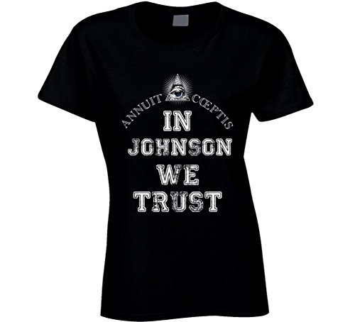 In Ashleigh Johnson We Trust 2016 Olympics Water Polo Ladies T Shirt 2XL - In Polo Olympics
