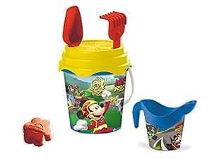 Mondo 18535 Mickey - Cubo, regadera y juguetes de playa