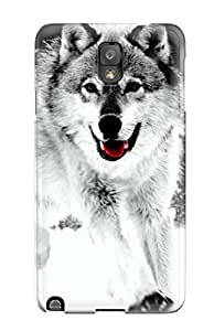 Fashion Protective Wolf Case Cover For Galaxy Note 3