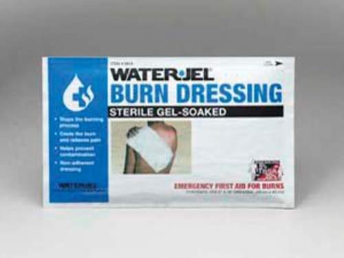 8'' X 18'' Foil Pack Sterile Gel-Soaked Burn Dressing. (3 Each)