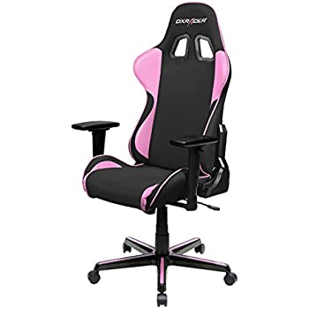 DXRacer FH11/NP Black Pink Formula Series Racing Bucket Seat Office Chair  Gaming Ergonomic With