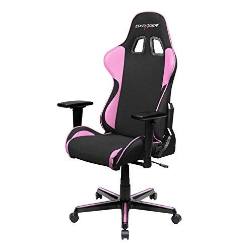 Elegant Gaming Chair Pink