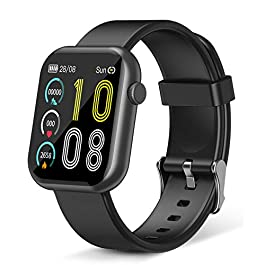 Smart Watch Tekpluze,Fitness Tracker with Heart Rate Monitor,IP67 Waterproof Fitness Watch with Pedometer,Smartwatch Compatible…