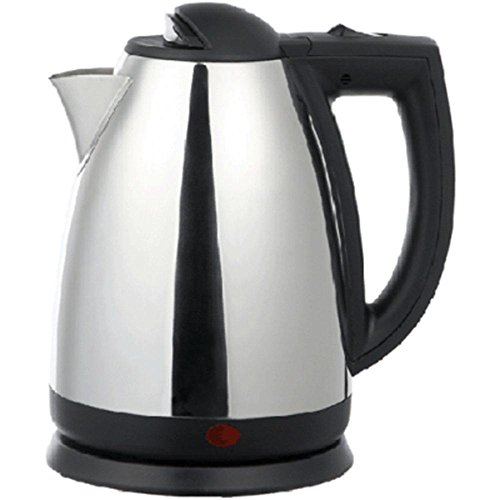 Brentwood 2.0 L Stainless Steel Electric Cordless Tea Ket...