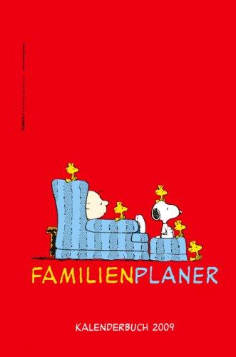 Peanuts Familienplaner Buch 2009