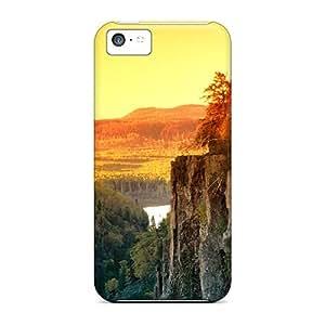 Lmf DIY phone caseIphone 5c Case Slim [ultra Fit] Sunset In Canada Protective Case CoverLmf DIY phone case