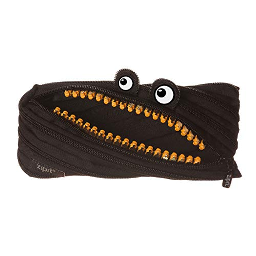 Zipit ZTM-GR-MB Grillz Pencil Case, Black