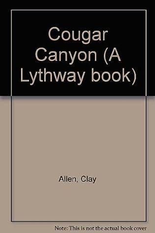 book cover of Cougar Canyon