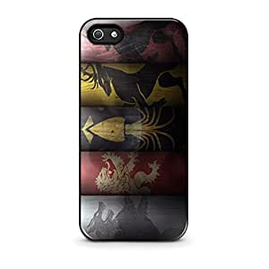GAME OF THRONES Hard Plastic Case for iPhone 5 5s case