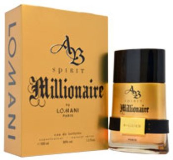 Men Lomani AB Spirit Millionaire EDT Spray 1 pcs sku# - Ab Perfume Spirit