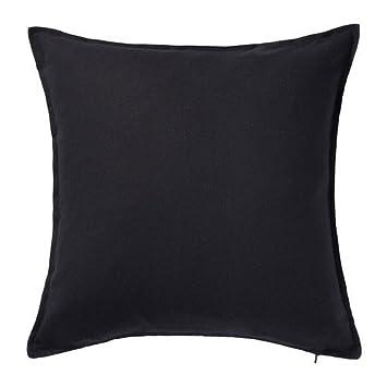 3 x IKEA GURLI - Funda de cojín, negro - 50 x 50 cm: Amazon ...
