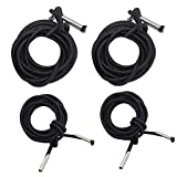 Universal Replacement Cords for Zero Gravity Chair, Replacement laces for Zero Gravity Chairs, Lounge Chair, Zero Gravity Recliner Repair Cords( include 4 cords)