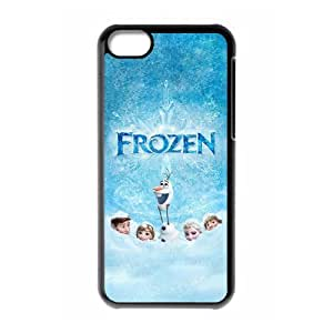 Frozen Newest 3D Cartoon Movie Cute Custom Hard Back Case Cover for iphone 5c iphone 5c
