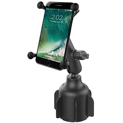 RAM Mount Stubby Drink Cup Base with X-Grip - Black