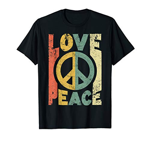Love Peace Freedom T-shirt 60s 70s Vintage T-shirt